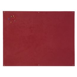 Bi-Office Filztafel, rahmenlos, 900 x 600 mm, burgunderrot