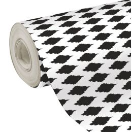 Clairefontaine Geschenkpapier Kreise schwarz, Secare-Rolle