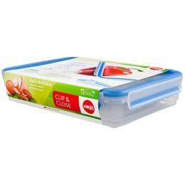 emsa Aufschnittbox CLIP & CLOSE, 1,65 Liter, transparent
