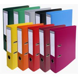 EXACOMPTA PVC-Ordner Premium, DIN A4, 70 mm, farbig sortiert