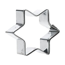 GastroMax Ausstechform Stern, Höhe: 80 mm, Edelstahl