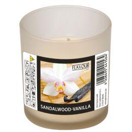 FLAVOUR by Gala Duftkerze im Glas Sandalwood-Vanilla