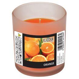 FLAVOUR by Gala Duftkerze im Glas Orange