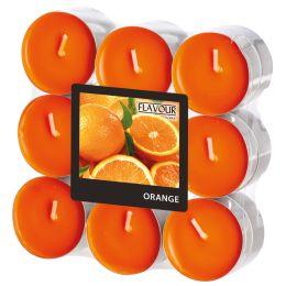FLAVOUR by Gala Duft-Teelichter Orange