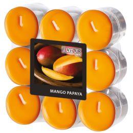 FLAVOUR by Gala Duft-Teelichter Mango-Papaya