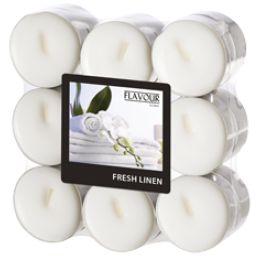 FLAVOUR by Gala Duft-Teelichter Fresh Linen