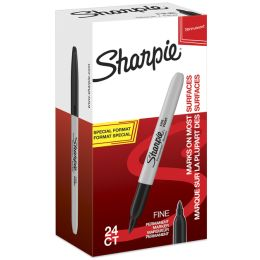 Sharpie Permanent-Marker FINE, Value Pack, schwarz