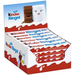 Kinder Schokoriegel, 36er Display, Inhalt: 756 g