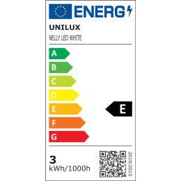UNiLUX Akku LED-Tischleuchte NELLY, dimmbar, weiß