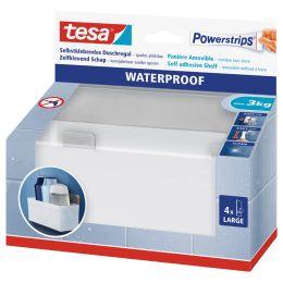 tesa Powerstrips Aufbewahrungs-Korb WATERPROOF Regal Zoom