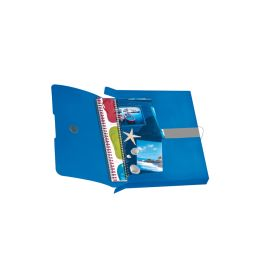 herlitz Sammelbox easy orga to go, DIN A4, blau opak