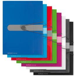 herlitz Sammelmappe easy orga to go, A4, PP-Folie, blau