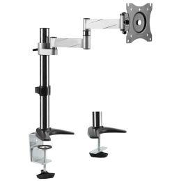 LogiLink TFT-/LCD-Monitorarm, Aluminium, Armlänge: 396 mm