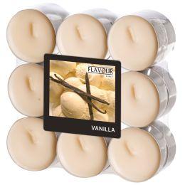 FLAVOUR by Gala Duft-Teelichter Vanilla