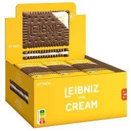 LEIBNIZ Doppelkeks Keksn Cream Milk 2er, im Display