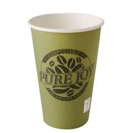 PAPSTAR Papp-Trinkbecher pure, 0,3 l, grün