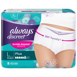 always discreet Inkontinenz-Höschen Pants Plus L