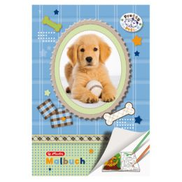 herlitz Malbuch Pretty Pets DIN A4, 28 Seiten
