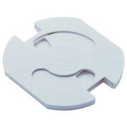 BACHMANN Steckdosenschutz Teddy-Automatic Serie 6320, weiß