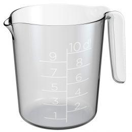 GastroMax Messbecher, 1,0 Liter, transparent