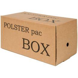 Inapa Packpapier POLSTER pac, 375 mm x 250 m, braun