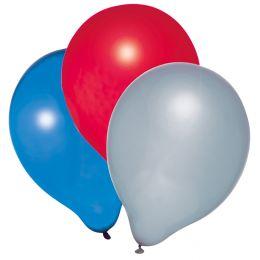 SUSY CARD Luftballons Metallic 1, farbig sortiert