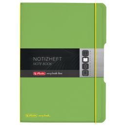 herlitz Notizheft my.book flex, A4, PP-Cover, schwarz