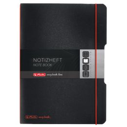 herlitz Notizheft my.book flex, A5, PP-Cover, transparent