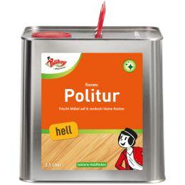 Poliboy fixneu Holz Politur hell, 2,5 Liter