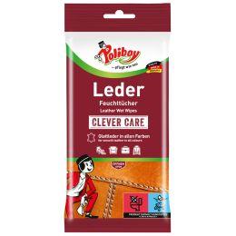 Poliboy Leder Pflege Feuchttücher, 20 Stück