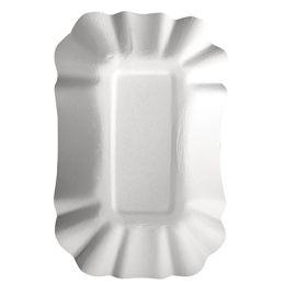PAPSTAR Pommes-Schale pure, Maße: 90 x 140 x 30 mm, weiß