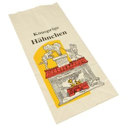 PAPSTAR Hähnchenbeutel, Maße: 280 x 130 x 80 mm