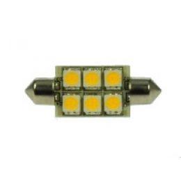 DIODOR LED-Lampe SMD Soffitte, 1,2 Watt, Länge: 37 mm