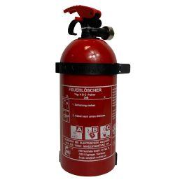 REINOLD MAX Feuerlöscher für Kraftfahrzeuge, 1 kg, DIN EN 3