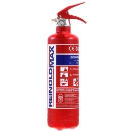REINOLD MAX Feuerlöscher für Kraftfahrzeuge, 2 kg, DIN EN 3
