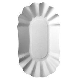 PAPSTAR Pommes-Schale pure, Maße: 90 x 160 x 30 mm, weiß