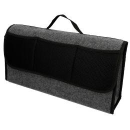 uniTEC KFZ-Kofferraum Organizer, mit Klettverschluss