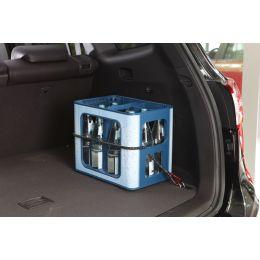 uniTEC Gepäckspanner mit Karabiner, Länge: 800 mm