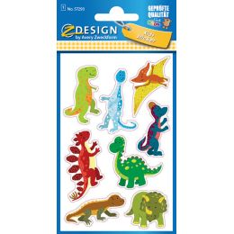 AVERY Zweckform ZDesign KIDS Glitter-Sticker Dinosaurier