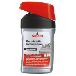 NIGRIN Kunststoff-Aufbereitung, schwarz, 300 ml