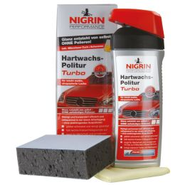 NIGRIN Performance Hartwachs-Politur Turbo, 500 ml