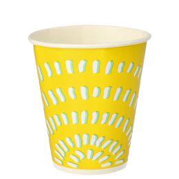 PAPSTAR Papp-Trinkbecher, 0,3 l, gelb, 100er