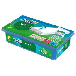 Swiffer Wet Wischtücher Nachfüllpackung, Inhalt: 12 Stück