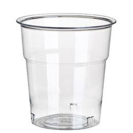 PAPSTAR Kunststoff-Trinkbecher PS, 0,1 l, glasklar, 50er