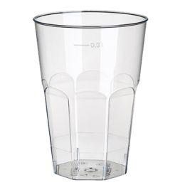 PAPSTAR Kunststoff-Caipirinhaglas PS, 0,3 l, glasklar