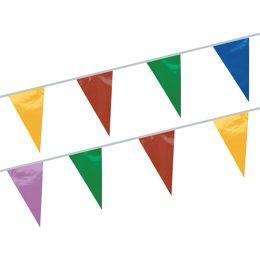 PAPSTAR Wimpelkette, farbig, aus Folie