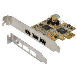 EXSYS FireWire 1394a PCI-Express Karte, 3 + 1 Port