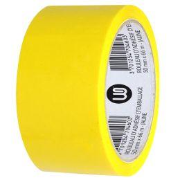 Wonday Verpackungsklebeband, aus PP, 50 mm x 66 m, gelb