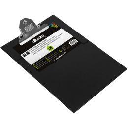 Wonday Klemmbrett, DIN A4, PVC-Folienüberzug, schwarz