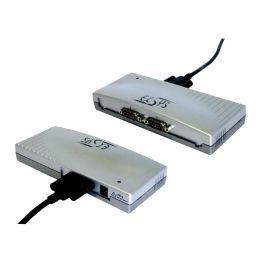 EXSYS USB 1.1 Konverter - 2 x seriell RS232, verschraubbar